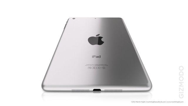 รูปจำลอง iPad Mini ตามข่าวลือถูกเรนเดอร์ขึ้นมาแล้ว มีทั้งดำและขาวให้เลือกชม