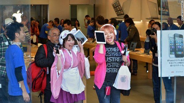 เพียงสามวันหลังเปิดตัว ยอดขาย iPad ทั้งสองรุ่นใหม่รวมกันสูงถึง 3 ล้านเครื่องแล้ว !!