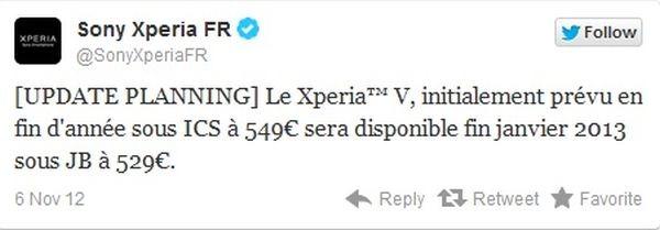 Sony-tweet