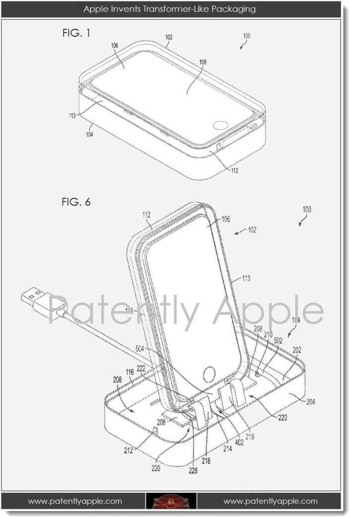 Apple ได้รับสิทธิบัตรใหม่ : กล่อง iPhone/iPad ที่ปรับเป็น Dock ได้ และระบบพัดลมระบายความร้อนใน iDevice