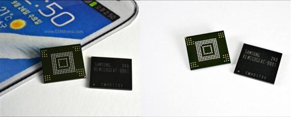 Samsung เริ่มผลิตหน่วยความจำ NAND ขนาด 64 GB เร็วกว่า microSD คลาส 10 กว่าสิบเท่า