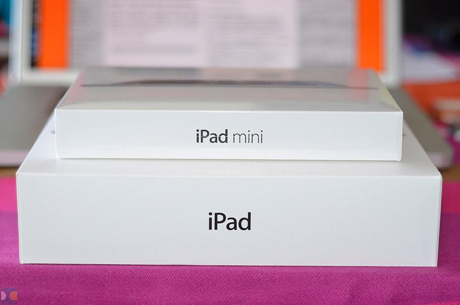 ภาพแกะกล่อง iPad mini มาแล้ว พบกล่องเล็กว่า iPad ปกติอยู่เยอะ !