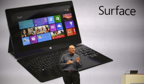 """ไม่เข้าเป้า? Microsoft เผย ยอดขาย Surface RT อยู่เเค่ """"พอประมาณ"""""""