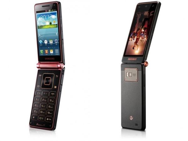 กลับมาเเล้วกับทรงเเบบคลาสสิค Samsung W2013 Android ฝาพับเเบบควอดคอร์