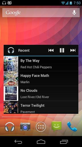 Apollo เเอพ Music Player จาก CyanogenMod เปิดให้ดาวโหลดใน Google Play เเล้ว