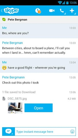 Skype ออกตัวอัพเดทปรับอินเตอร์เฟซให้คล้ายบน Windows 8 เพิ่มการสนับสนุนบนเเท็บเล็ต
