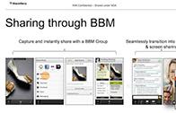 BlackBerry 10 เพิ่มฟีเจอร์ BBM ทำวีดีโอคอลเเละส่งรูปภาพหากันได้พร้อมเเอพ To-Do