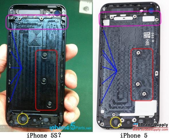 รูปหลุดอีกแล้ว คาดกันว่าอาจเป็น iPhone 5S ที่เน้นปรับเปลี่ยนภายในมากกว่าภายนอก