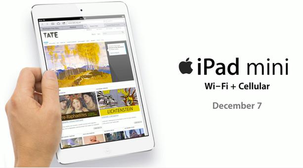 iPad mini รุ่น Cellular พร้อม iPad 4 เปิดจำหน่ายอย่างเป็นทางการในไทยแล้ววันนี้
