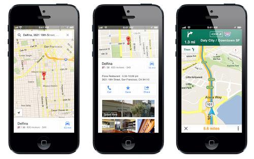 นักวิจารณ์ให้ความเห็น Google Maps for iOS ดูดีกว่าบน Android เองซะอีก