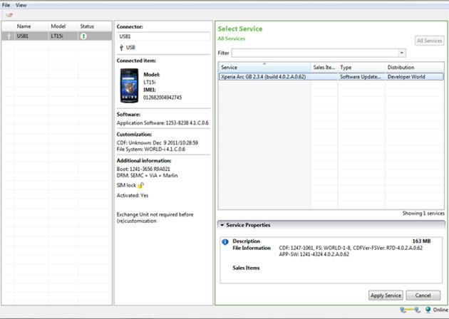Sony ออกเครื่องมือช่วยเเฟลช Custom Rom กลับมาเป็นรอมศูนย์