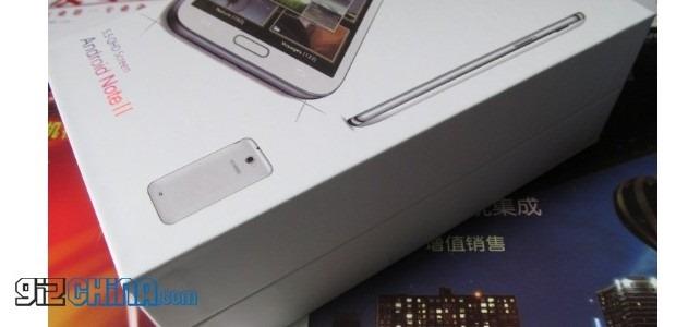 จีนก็อป Samsung Galaxy Note II อย่างเหมือน มาในราคาไม่ถึง 5000 บาท