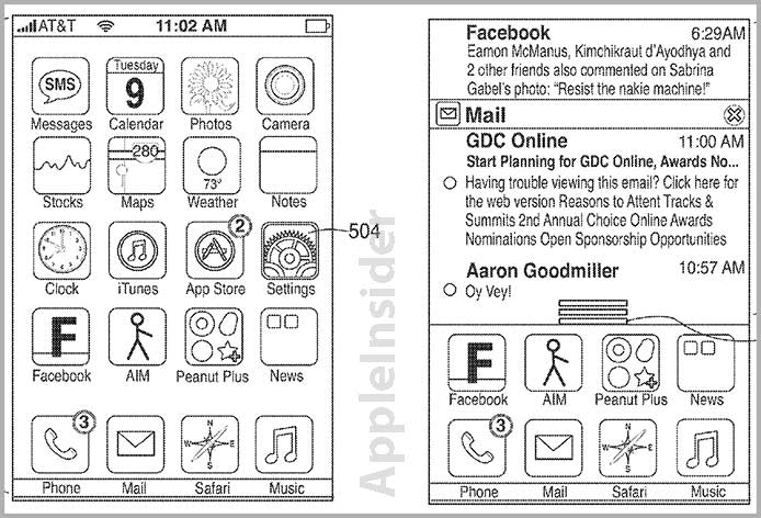 Apple จดสิทธิบัตร Notification Center ใน iOS สำเร็จแล้ว แม้จะมีลักษณะคล้ายใน Android ก็ตาม