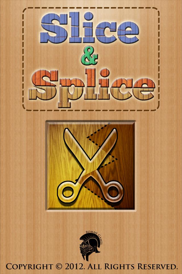 Slice&Splice เกมฝึกสมอง เล่นง่ายแค่ตัดรูปทรง