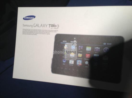 โผล่กล่อง Galaxy Tab 3 แบบว่ามาชัวร์ แต่ที่เหลือยังเป็นปริศนา
