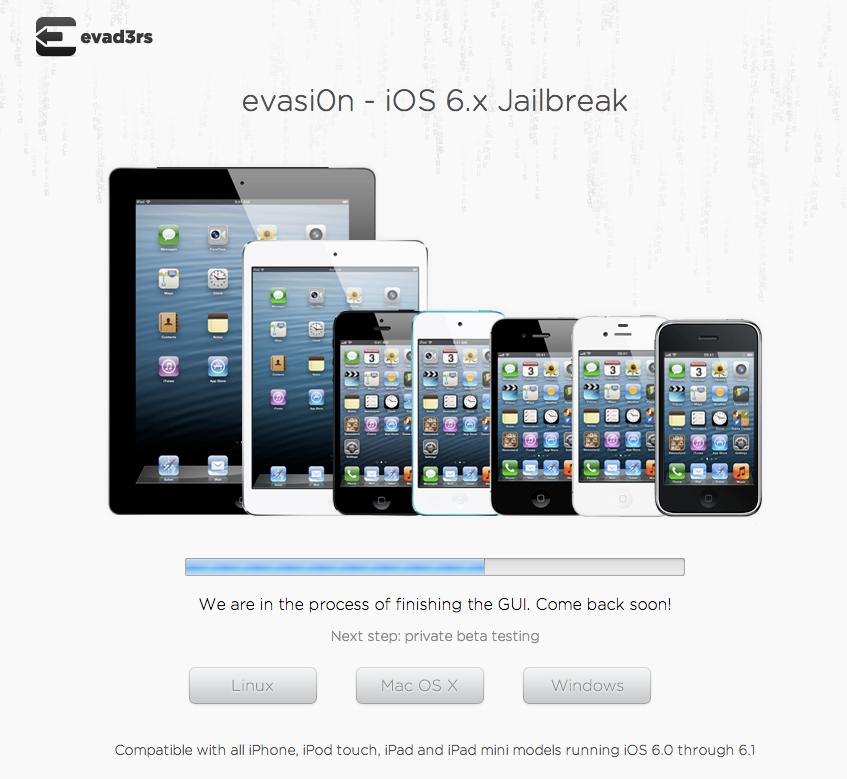 Evasi0n : โปรแกรม Jailbreak iOS 6.1 ใกล้คลอดแล้ว คาดเจอกันวันอาทิตย์นี้