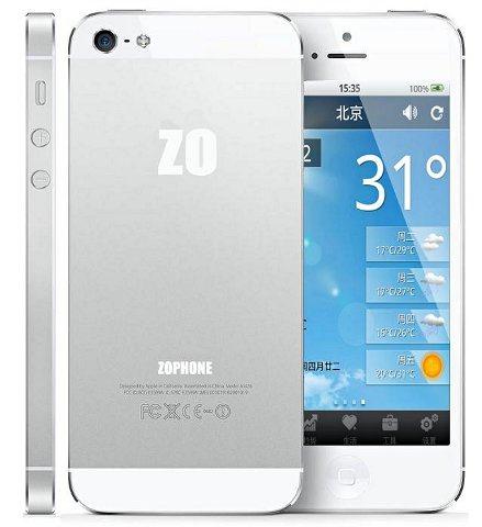 Zophone i5 เครื่องจีนก็อปเหมือน iPhone 5 ที่สุดเท่าที่เคยมีมา