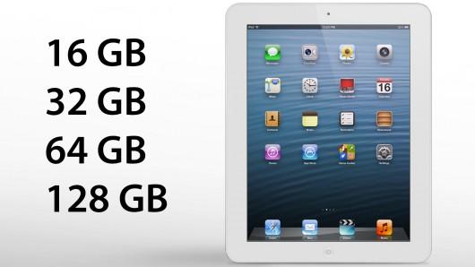 Apple เตรียมวางจำหน่าย iPad 4 ความจุ 128 GB ต้นเดือนหน้า เปิดราคาที่ $799 หรือราว 24,000 บาท