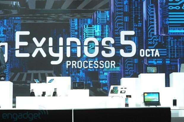[CES 2013] Samsung เปิดตัวซีพียูแปดคอร์ Exynos 5 Octa บอกกินไฟน้อยกว่าเดิม 70%