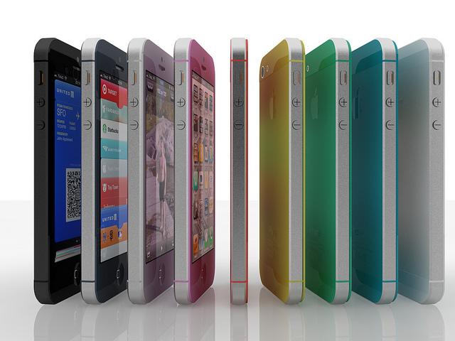 ลือ iPhone 5S จะเปิดตัวกลางปี มีให้เลือกหลากสีหลายขนาด