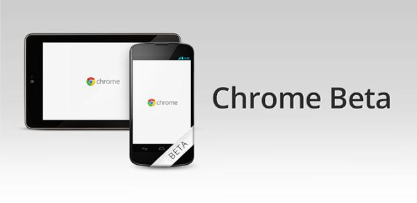 Google ปล่อย Chrome เวอร์ชันเบต้าให้ทดลองใช้ใน Android แล้ว