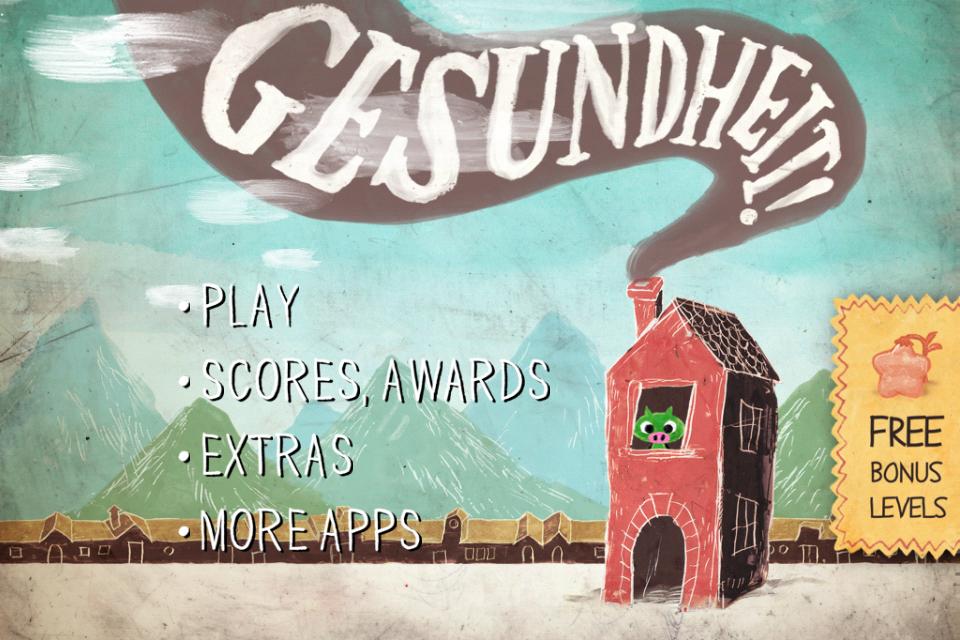 GESUNDHEIT! เกม puzzle adventure น่ารัก เล่นสนุก การันตีด้วยรางวัลแอพยอดเยี่ยม