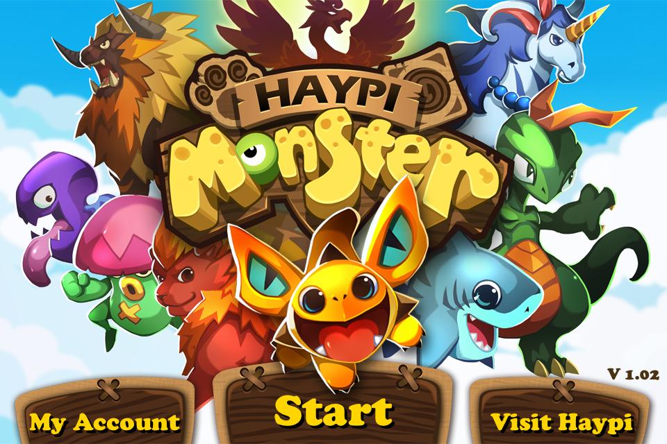 Haypi Monster เกมเลี้ยงมอนสเตอร์เล่นสนุก สไตล์โปเกม่อน