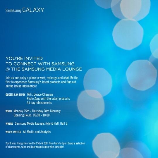 สยบข่าวลือ Samsung ส่งหมายเชิญเปิดตัวสินค้าในงาน MWC วันที่ 25-28 กุมภาพันธ์นี้