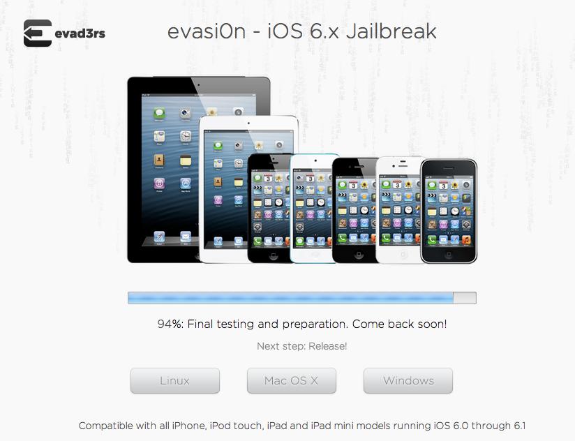 evasi0n : โปรแกรมสำหรับ Jailbreak iOS แบบ Untethered มีกำหนดปล่อยให้ใช้งานวันพรุ่งนี้