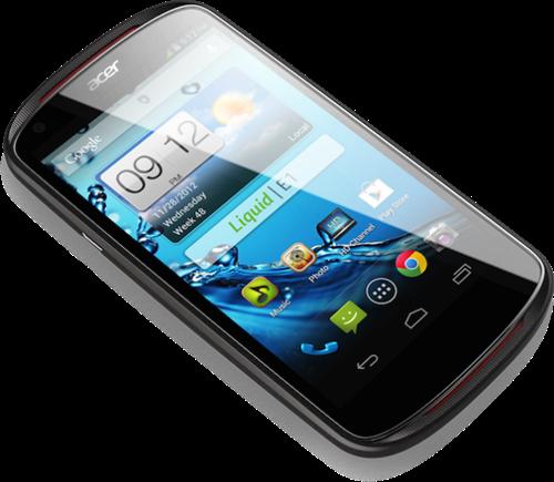 Acer Liquid E1 สมาร์ทโฟน Android จอใหญ่ 4.5 นิ้ว ราคาไม่น่าแพง