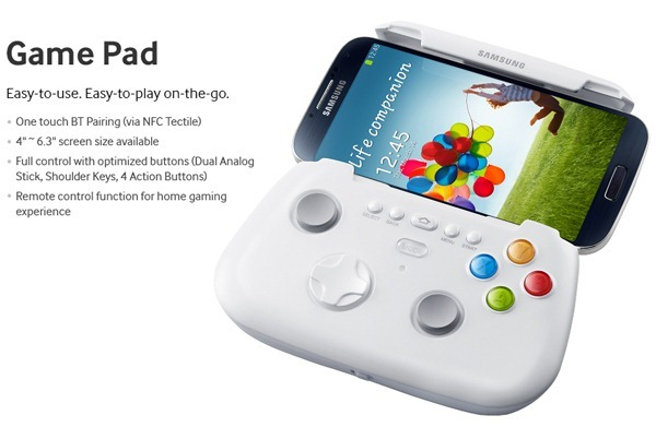 Galaxy-S4-wireless-gamepad