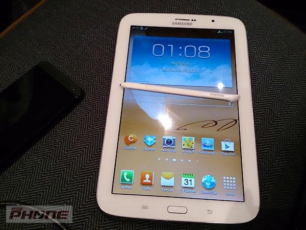Samsung ประเทศไทยเผยแล้ว เตรียมขาย Galaxy Note 8.0 วันที่ 23 เมษายนนี้