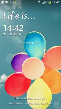 TouchWiz UI for Galaxy S4