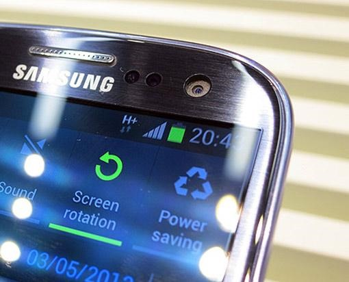 Samsung Galaxy S IV จะมีเทคโนโลยีจับการเคลื่อนไหวด้วยสายตา