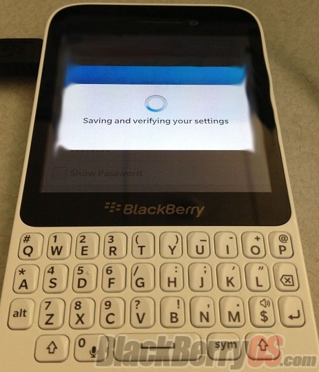 เครื่อง BlackBerry 10 ระดับเริ่มต้น ปรากฏตัวให้เห็นแล้ว