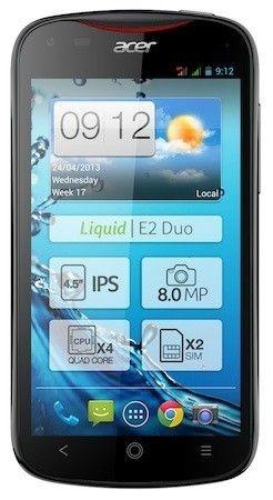 Acer เปิดตัว Liquid E2 มือถือควอดคอร์ จอ 4.5 นิ้วราคาไม่ถึงหมื่นบาท