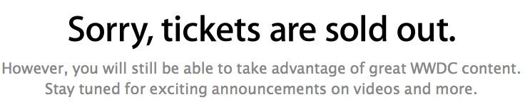 สถิติใหม่: บัตรเข้าร่วมงาน WWDC 2013 ถูกขายหมดภายในเวลา 2 นาที พร้อมสถิติอื่นๆ ที่น่าสนใจ
