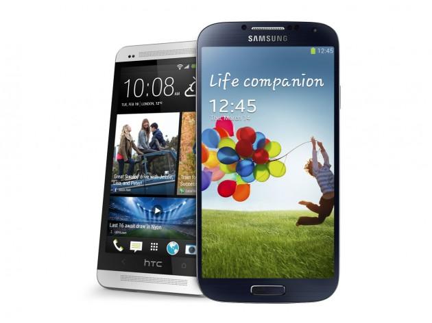 ผลสำรวจร้านค้าในสหรัฐ HTC One ขายดี แต่ Galaxy S4 ขายดีกว่า