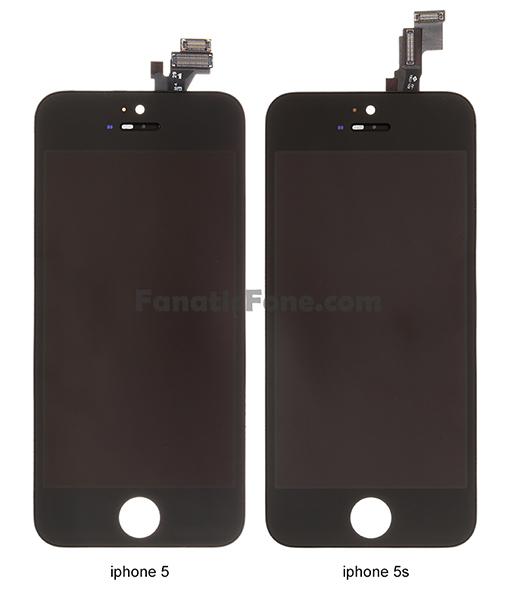 ภาพหลุดว่าที่พาเนลจอ iPhone 5S แบบชัดๆ พร้อมเปรียบเทียบกับ iPhone 5