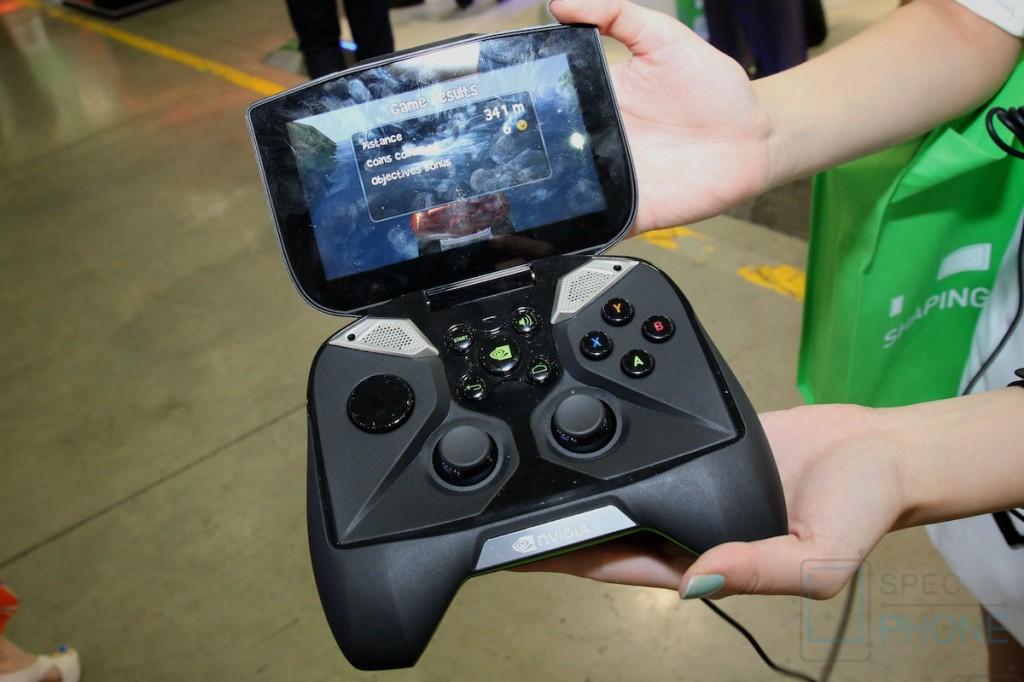 [Hands-on] NVIDIA Shield เครื่องเล่นเกม Android ขนาดพกพา ส่งตรงจาก Computex 2013
