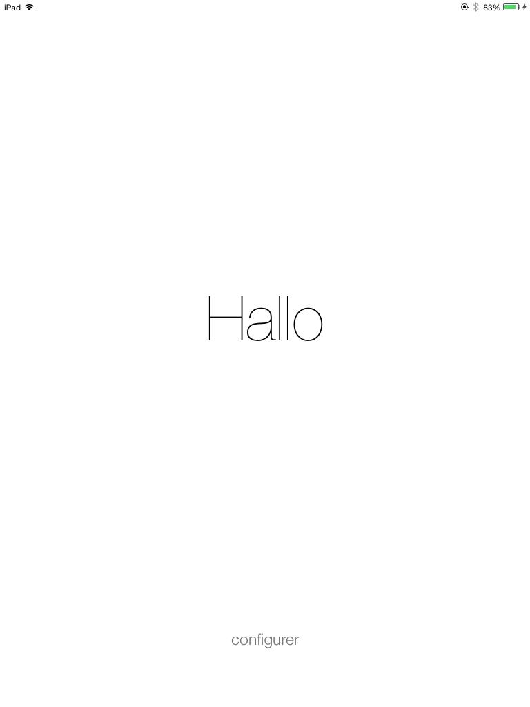 พรีวิวหน้าตา iOS 7 Beta 2 บน iPad mini