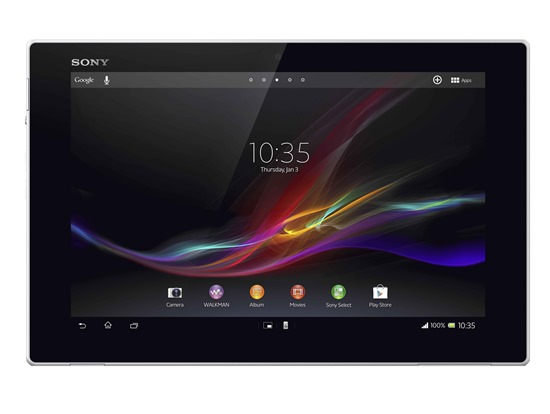 โซนี่ ท้าชม Xperia™ Tablet Z แท็บเล็ตกันน้ำได้ และบางที่สุด พร้อมความบังเทิงอีกเพียบ