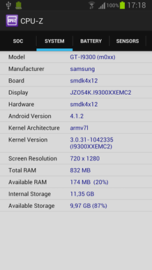 CPU-Z มาลงสู่ Android แล้ว ไม่ต้องสงสัยว่ามีอะไรอยู่ในเครื่องอีกต่อไป