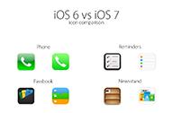 thumb iOS6vsiOS7 icons