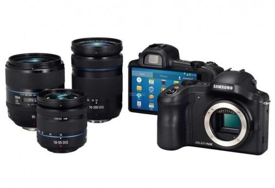 มีอยู่จริง Galaxy Camera NX อัพเกรดเป็นกล้องแบบ mirrorless พร้อมเปลี่ยนเลนส์ได้