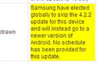 ข่าวดีผู้ใช้ Galaxy S III กับ Note II ได้รับอัพเดท Android 4.3 แน่นอนช่วงปลายปี