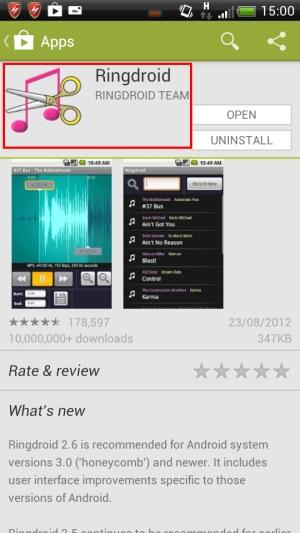 Ringdroid ตัดเพลงโปรดให้เป็นริงโทนคู่ใจบนมือถือ Android