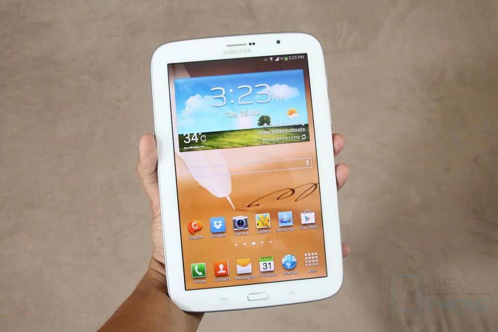 Samsung GALAXY Note 8.0 (ตอนที่ 1) : ที่สุดของอุปกรณ์สำหรับคนชอบขีดชอบเขียน