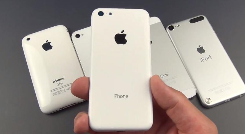 คลิปเปรียบเทียบฝาหลัง iPhone ราคาประหยัดที่ทำจากพลาสติกแบบชัดๆ กับ iPhone และ iPod Touch