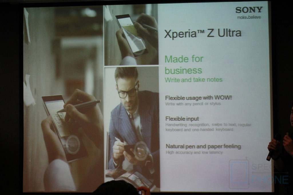 Sony Xperia Z Ultra Hands on Specphone 208
